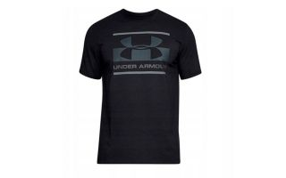 Under Armour CAMISETA UA BLOCKED SPORTSTYLE LOGO NEGRO