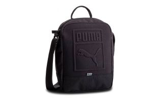 <center><b>Puma</b><br > <em>PORTABLE BLACK BAG</em>