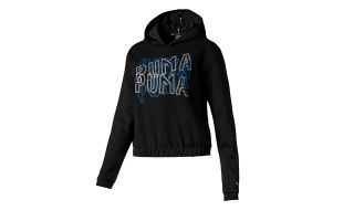 Puma SWEATSHIRT FEEL IT NOIR BLEU FEMME