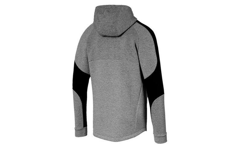 Sweatshirt Avec Capuche Puma Evostripe Gris Noir Confort