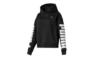 Puma REBEL HOODY FL BLACK WOMEN SWEATSHIRT