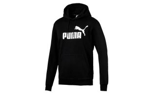 PUMA SUDADERA ESSENTIALS BIG LOGO NEGRO