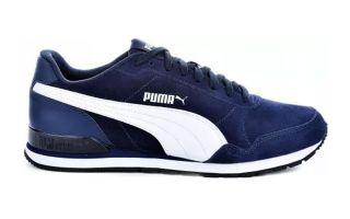 PUMA ST RUNNER V2 SD BLU BIANCO 365279 08