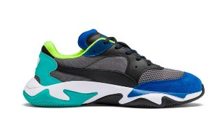 <center><b>Puma</b><br > <em>STORM ORIGIN GREY BLUE 369770 01</em>