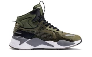 Puma RS-X MIDTOP UTILITY ARMY GREEN 369821 01
