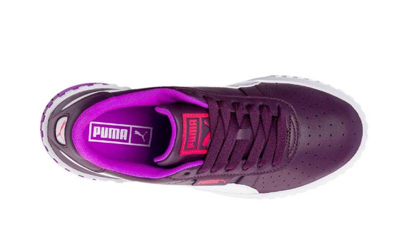 Puma Cali Chase purple white women