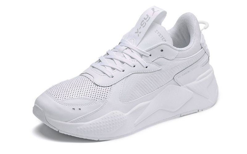 Puma Rs X Winterized white - Breathable fabrics