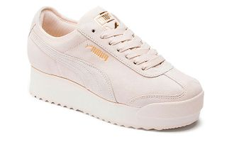 Puma ROMA AMOR SUEDE BEIGE MUJER 370946 02