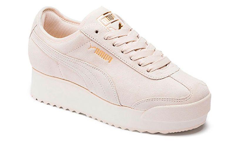Puma Roma Amor Suede W Schuhe beige