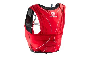 Salomon GILET ADV SKIN 12 SET ROUGE