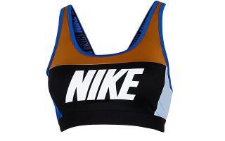 Nike SUJETADOR DEPORTIVO DSTRT CLASSIC NEGRO MARRON