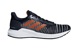 ADIDAS SOLAR RIDE NOIR ORANGE