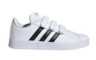 adidas VL COURT 2.0 CMF BLANCO NEGRO JUNIOR DB1837