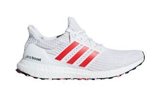 adidas ULTRABOOST WHITE RED DB3199