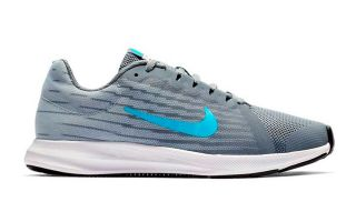 Nike DOWNSHIFTER 8 GRIS BLANCO JUNIOR NI922853 012