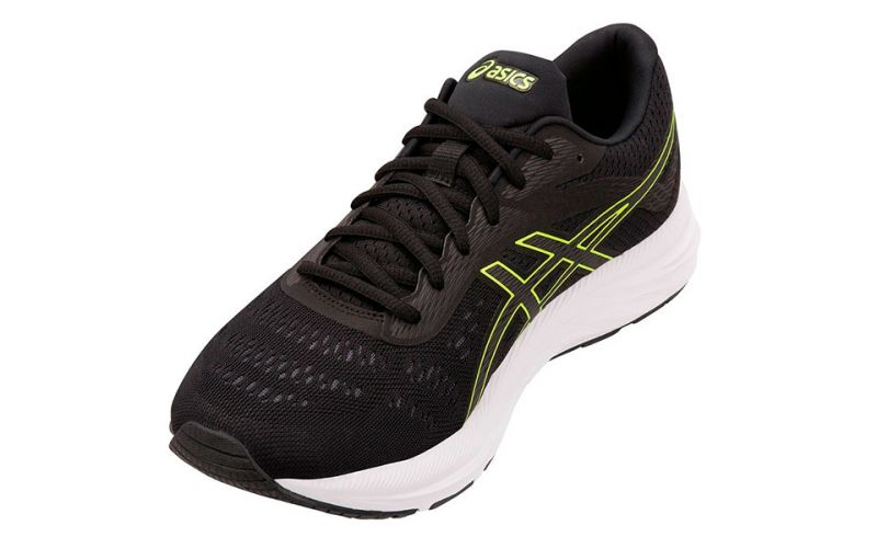 GEL EXCITE 6 NEGRO AMARILLO 1011A165 002
