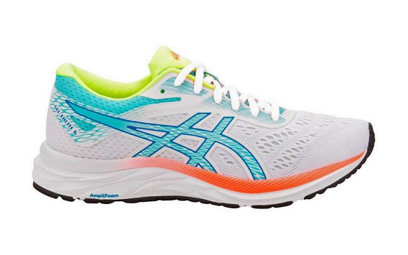 Gel Excite 6 Sp Blanco Azul Mujer 1012a507 100