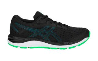 Asics GEL-CUMULUS 20 GS NEGRO VERDE JUNIOR 1014A003 001