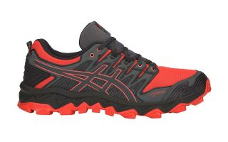 Asics GEL-FUJITRABUCO 7 GREY ORANGE 1011A209 600