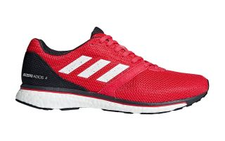 <center><b>adidas</b><br > <em>ADIZERO ADIOS 4 RED BLACK B37308</em>