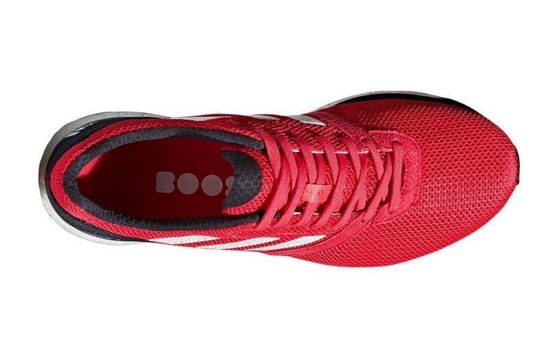 Adidas Adizero Adios 4 red black - With