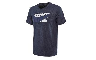 NIKE DRY FIT TRAINING BLACK SHIRT