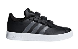 adidas VL COURT 2.0 CMF JUNIOR NEGRO F36387
