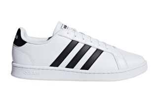 adidas GRAND COURT WHITE BLACK F36392