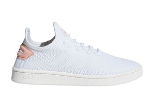 adidas COURT ADAPT WHITE PINK WOMEN F36476
