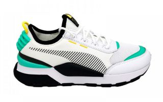 PUMA RS-0 TRACKS BLANCO ACQUA NEGRO 369362 07