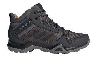 adidas TERREX AX3 MID GTX BLACK BROWN BC0468
