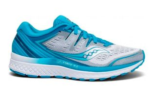 Saucony GUIDE ISO 2 AZUL BLANCO MUJER S10464-36
