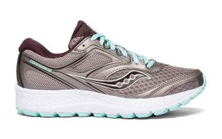 Saucony SAUCONY COHESION 12 GRIS AZUL MUJER S10471-1