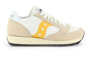 SAUCONY JAZZ ORIGINAL VINTAGE BEIGE YELLOW WOMEN S60368-40