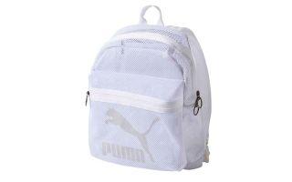 Puma ORIGINALS MESH WHITE BACKPACK