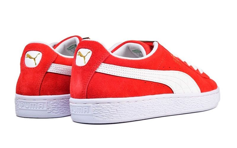 detailed look dfd60 f65d3 Puma Suede Classic Bboy Fabulous red white - Resistant materials