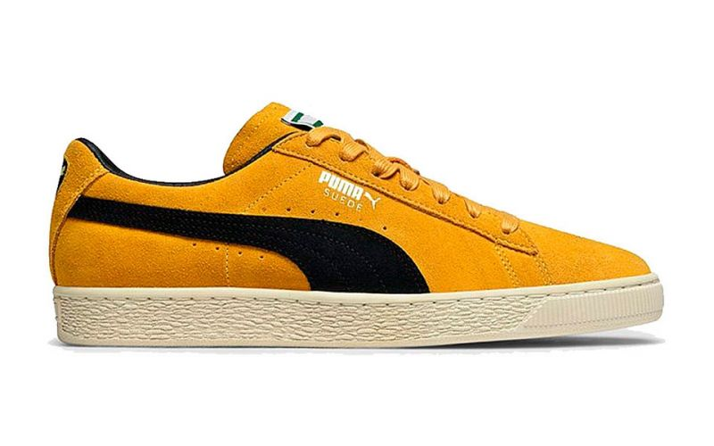 reputable site dc0d3 bfc6e SUEDE CLASSIC YELLOW BLACK 365587 03