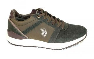 US POLO ASSN WAYRON ARMY GREEN YBRA4105W8 SY1