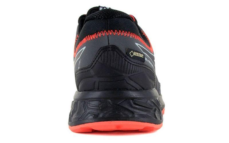 Asics Gel Sonoma 4 Gtx Nero Arancione Per il trail running