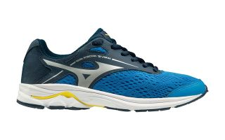 Mizuno WAVE RIDER 23 BLACK BLUE BOY K1GC1933 03