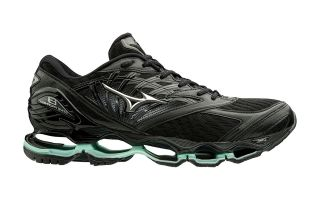 Mizuno WAVE PROPHECY 8 BLACK SILVER WOMEN J1GD1900 15