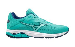 Mizuno WAVE RIDER 23 TURQUOISE WHITE WOMEN J1GD1903 25