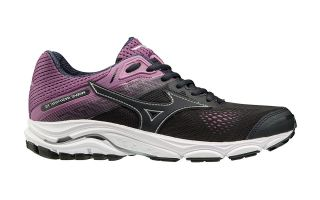 Mizuno WAVE INSPIRE 15 BLACK PINK WOMEN J1GD1944 53