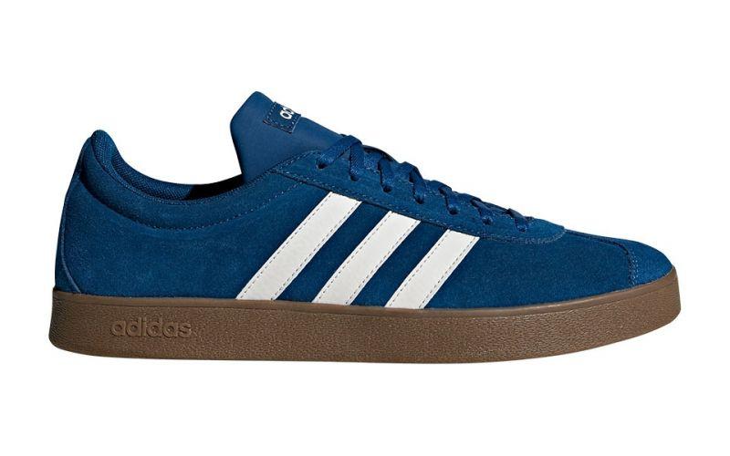 adidas vl court 2.0 bleu femme
