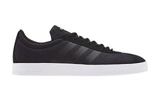 adidas VL COURT 2.0 BLACK WHITE F34579