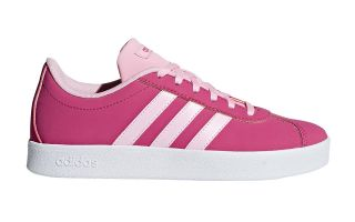 adidas VL COURT 2.0 K PINK WHITE GIRL F36382