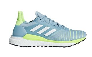 ADIDAS SOLAR GLIDE GRIS AMARILLO FLUOR MUJER D97427