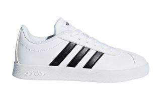 adidas VL COURT 2.0 K WHITE BLACK BOY DB1831