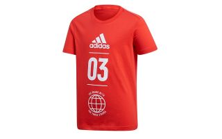 adidas SPORT ID RED JUNIOR SHIRT