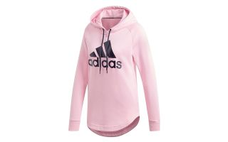 ADIDAS SUDADERA MUST HAVES BADGE OF SPORT ROSA MUJER
